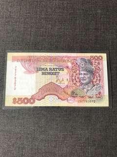 Malaysia RM500