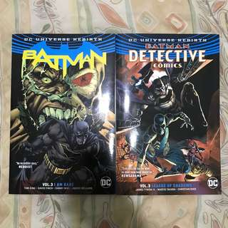 Batman Rebirth Vol 3 $ Detective Comics Vol 3