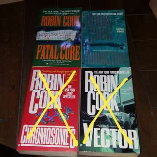 Robin Cook Books Bundle (2 pcs)