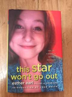 this star won't go out Book