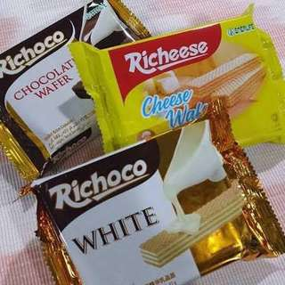 Richesse and Richoco Wafer