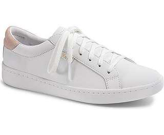 Keds Ace Leather in Blush/Pale Iris