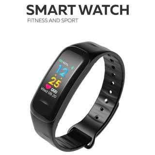 【店長推介】智能手錶- WHATSAPP WECHAT FB IG 信息顯示/來電顯示/遙控音樂/血壓,心率監測/卡路里計算 /計步器/睡眠監測 Bluetooth smart watch Pedometer 防水 IP67