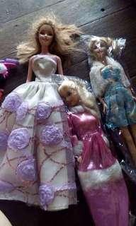 Pre 💟 Barbie dolls