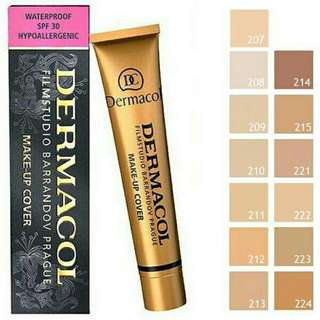 BESTSELLER! Dermacol Make Up Cover Waterproof Foundation SPF30