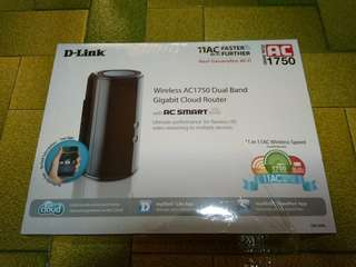 Dlink DIR-868L AC1750 dual band gigabit cloud router