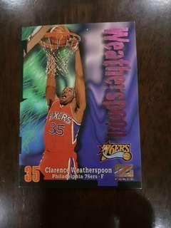 NBA card- Weatherspoon