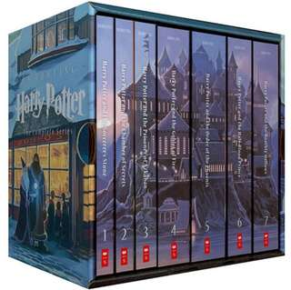 Harry Potter Box Set (Complete Collection Books 1-7) by J. K. Rowling