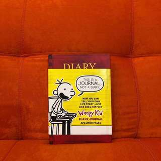 Diary of a Wimpy Kid - Blank Journal (Hardbound)