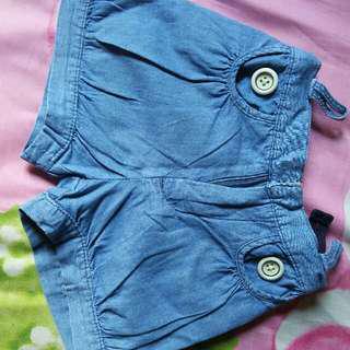 Hot pants baby