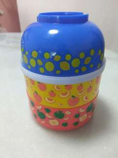 Cute design 4 piece lunch box