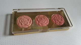 Milani trio rose palette