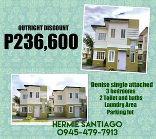 Affordable house and lot package