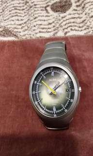 雅柏 日本版手鈪型貝殼綠色面 自動錶
