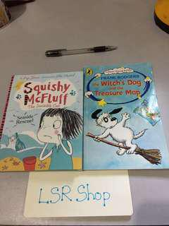 Book bundle‼️ - Squishy Mcfluff ,The witch's Dog and the treasure map