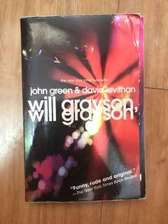 Will Grayson, Will Grayson Book