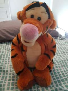 Large tiger stuffed toy