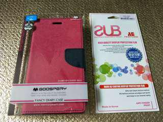 LG4 casing and screen protector