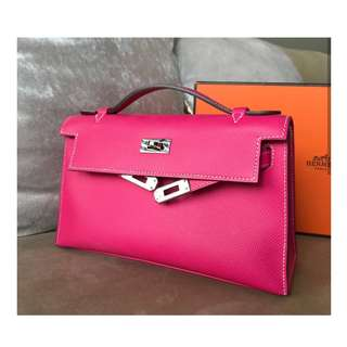 Authentic Hermes Kelly Mini Pochette