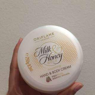 Hand & Body Cream Milk Honey
