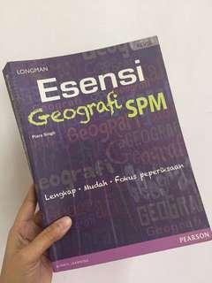 Buku rujukan Geografi