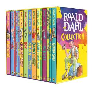 Roald Dahl Box Set Complete Collection