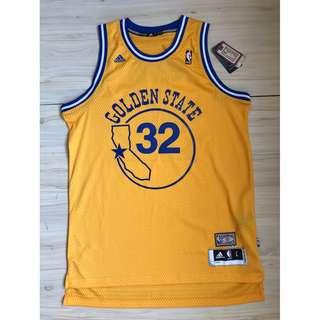 Adidas NBA 勇士隊 Brandan Wright 球衣 L號