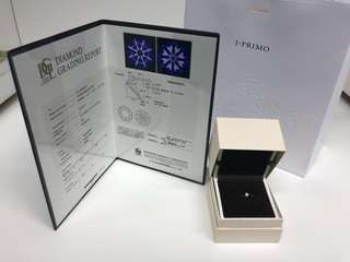 I-PRIMO 0.28 Carat diamond ring - Brand New