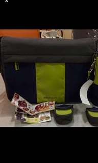 Allerhand diaper bag (messenger)