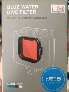 GoPro Hero 5 / 6 compatible Red Filter