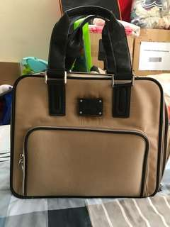 Guess Brand cabin size luggage bag