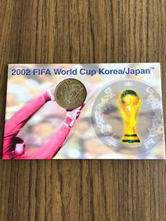 S187 - 2002 FIFA World Cup Korea/Japan 500 Yen Coin