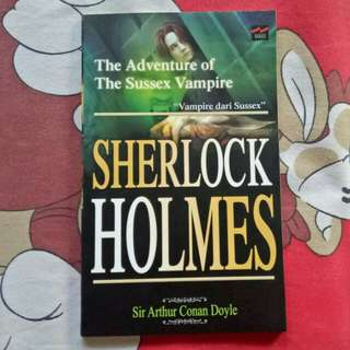 Novel Sherlock Holmes The Adventure of The Sunssex Vampire