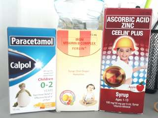 Vitamins for babies and kids