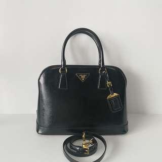 Authentic Prada Alma Saffiano Bag