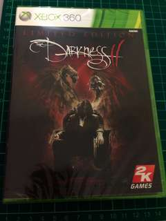 [new] XBOX 360 games DARKNESS II LIMITED EDITION