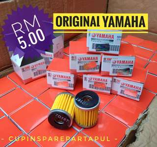Oil filter yamaha original Y15 , 135LC