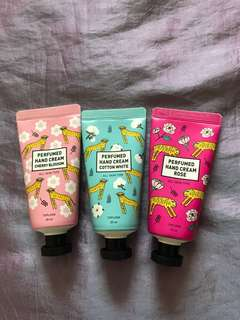 Perfumes hand cream (TOPLOOK)