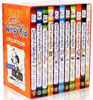 Diary Of A Wimpy Kid Box Set Complete Collection by Jeff Kinney