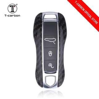 Genuine T-Carbon™ 100% Carbon Fiber Key case / Key Fob / Key protector (Honda / Audi / Mercede Benz / Mazda / BMW / Nissan / Qashqai / Volkswagen / Porsche / GTR / Subaru / Lexus / Land Rover) 100% No Defect
