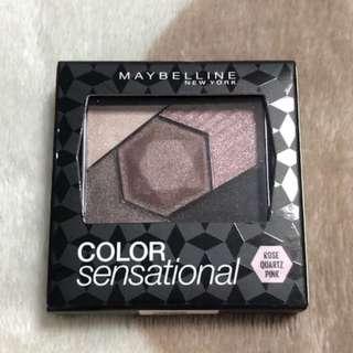 Maybelline colour sensational eyeshadow rose quartz pink