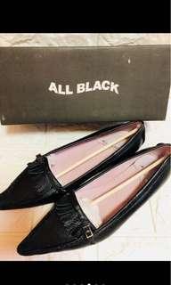 🚚 ALL BLACK專櫃女鞋全新