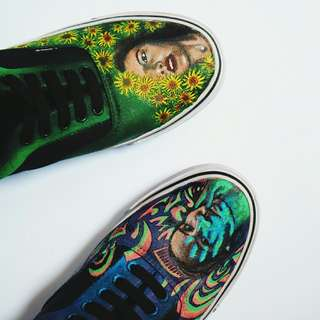 Vans Authentic Custom (Hand Painting)