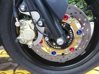 Brembo 2 pot for aerox