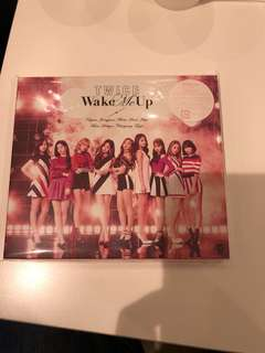 Twice Wake Me Up Japan EP Plus Poster Sealed