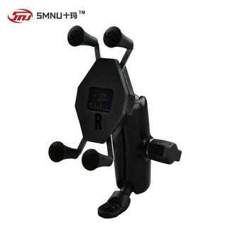 SMNU mobile phone holder for mirror type adapter