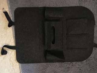 Car back seat organizer- multifunction