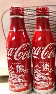 日本限定 鋁樽 可口可樂 熊本
