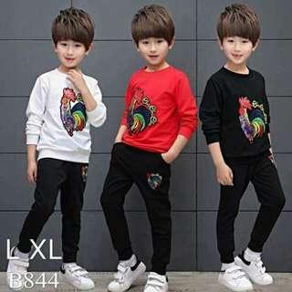 Korean Fashion Kiddy OOTD Terno