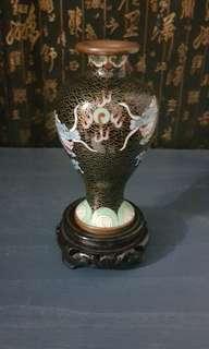 Small Cloisonné Vintage Vase